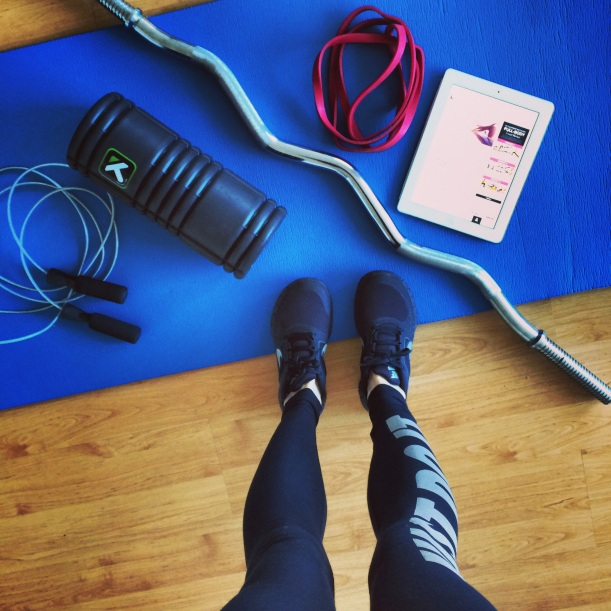 Home gym, fit mom, fitness for moms