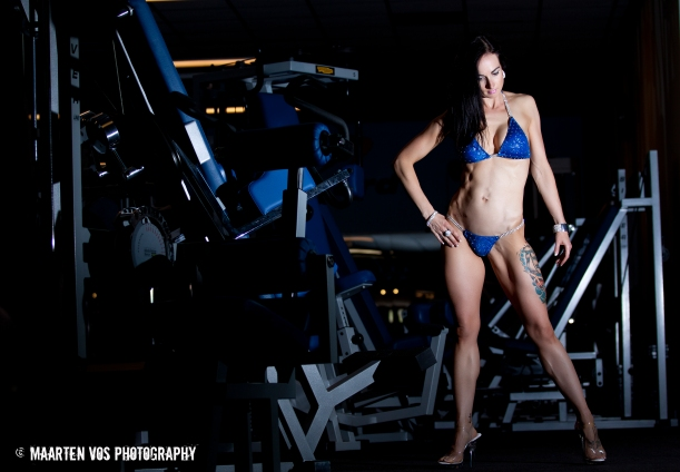 Bikini Fitness Athlete Lisanne Vos (getfoxfit) Photo: Maarten Vos