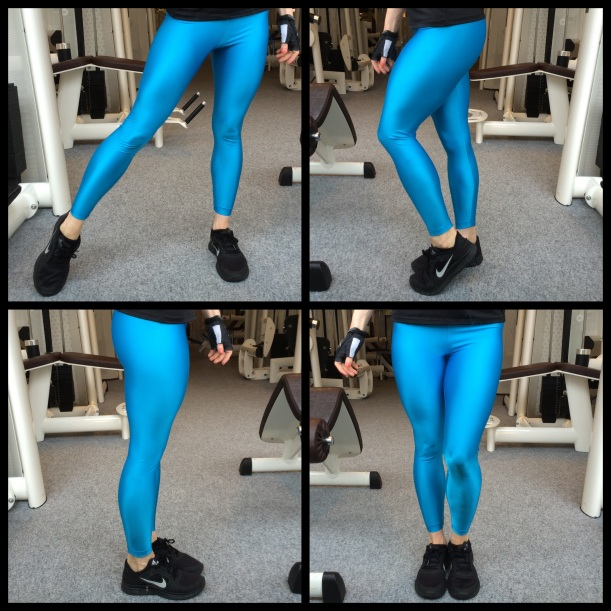 Review of American Apparel Shiny Nylon Tricot Leggings