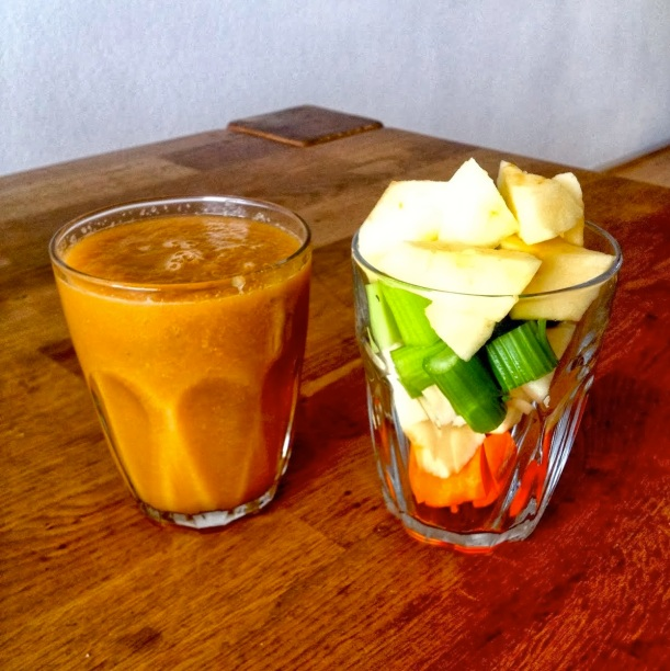 Apple, Carrot & Celery Juice (getfoxfit)