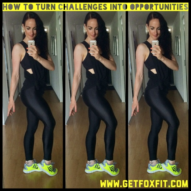 9 weeks out (Bikini Competition Prep) Turning Challenges into Opportunities | via @getfoxfit