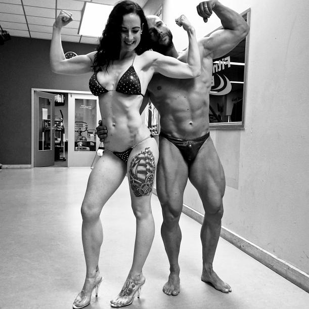 IFBB athlete's - Lisanne and Maarten Vos (www.getfoxfit)
